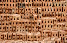 Free Stacking Of Brick Stock Photo - 20604300
