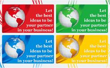 Free Visiting Card - Best Ideas Stock Photo - 20604460