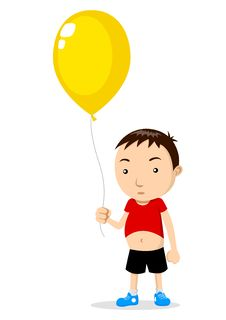 Free Kid With A Balloon Royalty Free Stock Photo - 20604655
