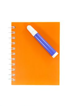 Free Notebook With Magic Pen Stock Images - 20605044
