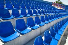 Free Chairs In Stadium Royalty Free Stock Images - 20605609