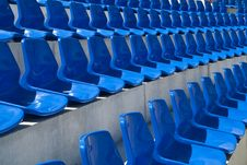 Free Chairs In Stadium Royalty Free Stock Image - 20605696