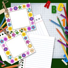Free Back To School Background Royalty Free Stock Images - 20605729