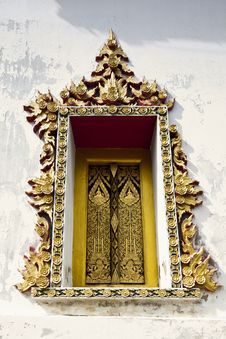 Free Gold Window Royalty Free Stock Photography - 20605797