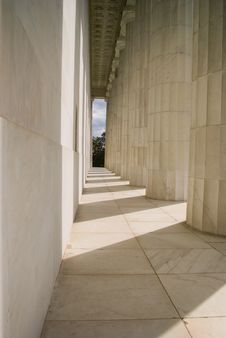 Free Behind The Lincoln Memorial Stock Photo - 20605830