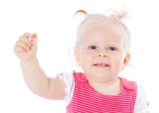 Free Funny Little Girl Royalty Free Stock Images - 20605899