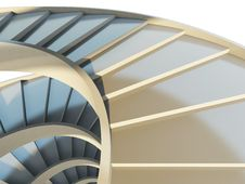 Free Abstract Spiral Staircase Stock Photography - 20606312