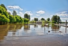 Free Flooded Boat Launch Royalty Free Stock Photo - 20606455