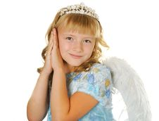 Beautiful Angel Stock Photos