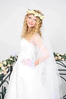 Free Bride. Royalty Free Stock Photography - 20606887