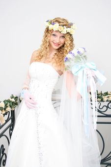 Free Bride. Royalty Free Stock Photography - 20606897