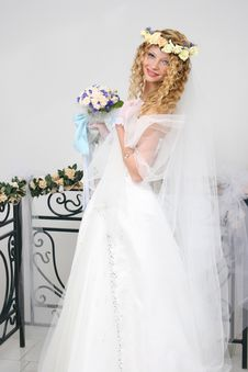 Free Bride. Royalty Free Stock Images - 20606929