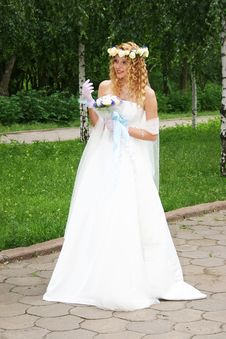 Free Bride. Royalty Free Stock Images - 20607049