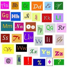 Free Alphabet Stock Photography - 20607242