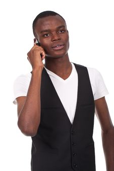 Free Man On The Phone Stock Photography - 20607832