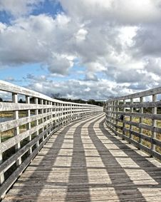 Free Bridge With Sky Stock Photo - 20607890