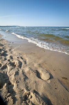Baltic Seaside Royalty Free Stock Image
