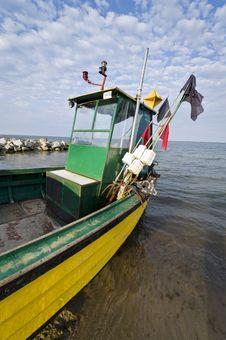 Free Fishing Boat Stock Image - 20608151