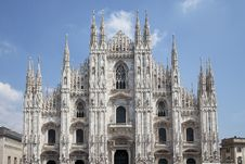 Cathedral In Milan Royalty Free Stock Photo