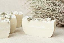 Natural Herbal Soap Royalty Free Stock Image