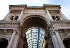 Free Milan - Luxury Gallery Royalty Free Stock Images - 20608689