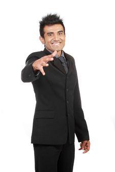 Free Happy Businessman Stock Photo - 20609130