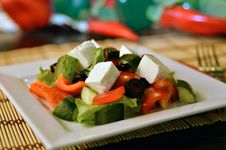 Free Greek Salad Stock Image - 20609321
