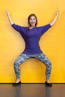 Free Beautiful Girl In Purple Sweater Stock Photos - 20609433