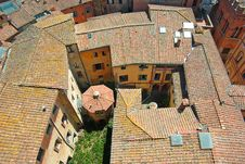 Free Roofs Of Siena, Italy Stock Photo - 20609800