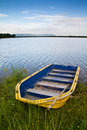 Free Yellow Boat Royalty Free Stock Photography - 20611877