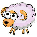 Free Funny Fluffy Sheep Stock Images - 20613194
