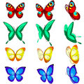 Free Set Of  Butterflies Stock Images - 20616644