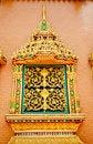 Free Thai Style Temple Window Royalty Free Stock Photos - 20619348