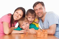 Free Nice Family Playing Royalty Free Stock Photo - 20610195