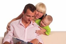 Free Nice Family Portrait Royalty Free Stock Photography - 20610257