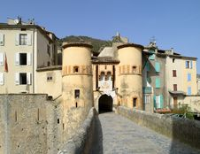 Free Entrevaux - The Castle Royalty Free Stock Photography - 20610377