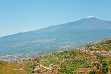 Free View On Etna Royalty Free Stock Photos - 20610518