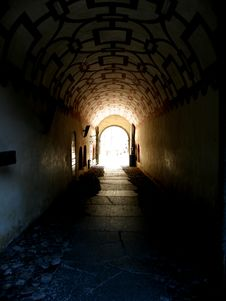 Free Light At The End Of The Tunnel Royalty Free Stock Photography - 20610777