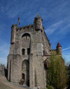 Free Gent Castle Stock Photo - 20611020