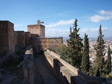 Free Alhambra Palace Stock Photo - 20611700