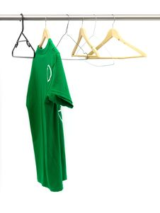 Free Hanging Garments Royalty Free Stock Photography - 20611917