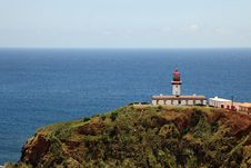 Free Lighthouse On The Island Of Pico, Azores Royalty Free Stock Image - 20611926