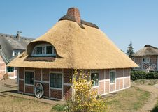 Traditional German House Stock Photography