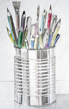 Pencils Case