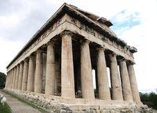 The Hephaisteion Stock Images