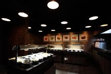 Free Self-service Restaurant Interior Royalty Free Stock Images - 20613309