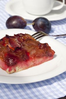Free Plum Cake Royalty Free Stock Image - 20613746
