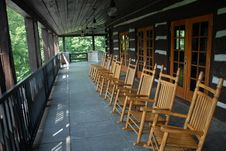 Free Rocking Chairs Stock Photography - 20614022