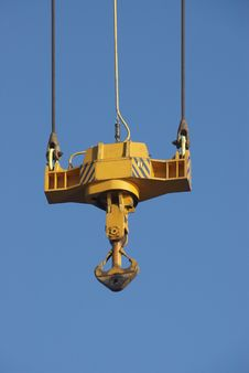 Crane Hook Royalty Free Stock Images