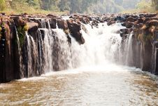 Free Tad Pha Suam Waterfall Royalty Free Stock Images - 20614289